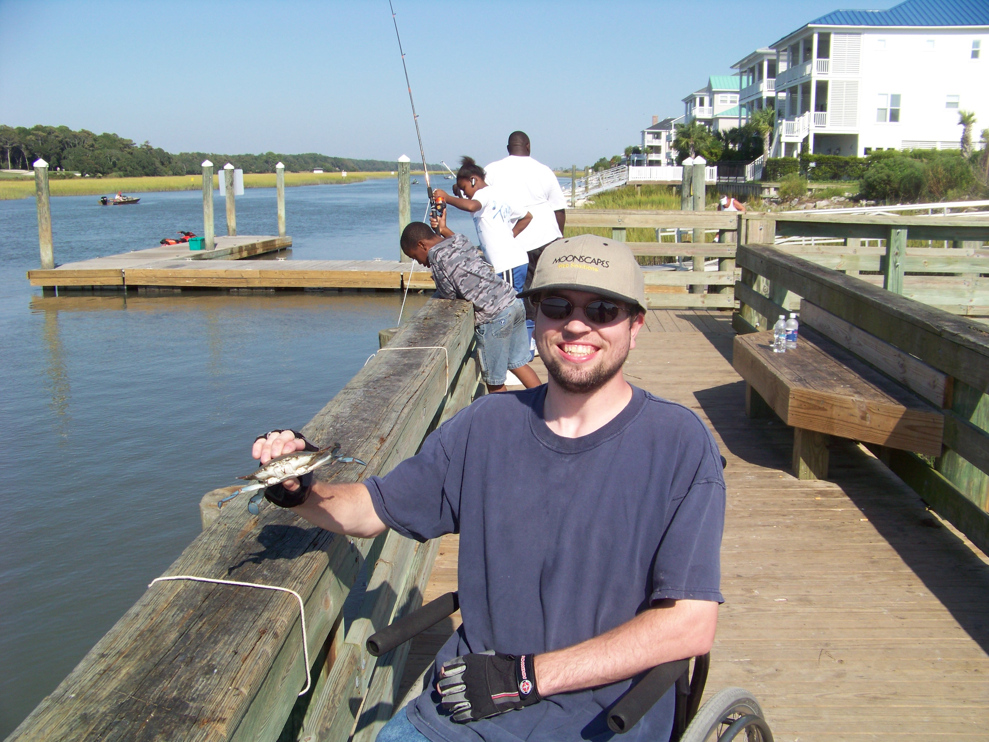 September 2014 the squeaky wheelchair about living for Deep sea fishing maryland